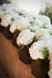 White Hydrangea Centerpiece by 74 Best White Weddings Images On Pinterest Marriage Flowers And