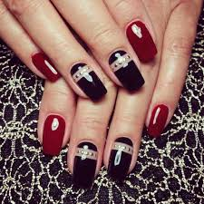 20 stunning red u0026 black nail designs you u0027ll love to try
