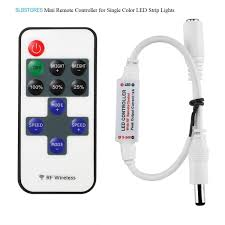 Led Strip Lights Remote Control by Amazon Com Slbstores 3528 5050 12v Dc Mini Remote Controller For