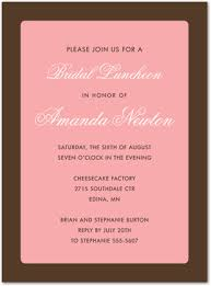 Formal Invitations Formal Brown Border Pink Invitation Modern Invitations 23869
