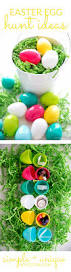 a color coded easter egg hunt so festive
