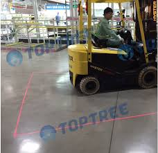 blue warning lights on forklifts red zone danger area warning light forklift red zone light 80vdc