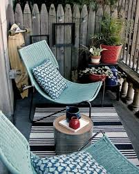 gartenmã bel kleiner balkon chestha bank design balkon
