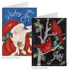 christmas cards labels u0026 matching envelope seals colorful images