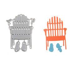 flip flop chairs scrapbooking embossing diy steel carbon knife diea flip flop