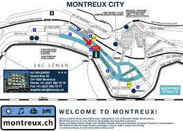map of montreux hotel infos