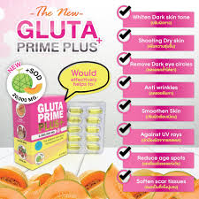 Gluta Nano new 30 pills soft gel gluta prime plus 2 000 000mg nano glutathione