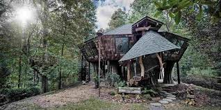 three house the hideout in the woods an artist s