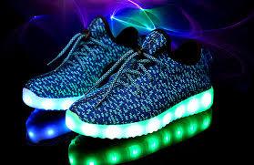 led light up shoes new children kids boys girls luminous sneakers running shoes led