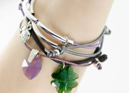 leather cord bracelet knot images Two knot cord charm bracelet 2015 eureka crystal beads blog jpg
