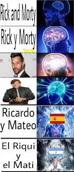 Ricky Martin Meme - ricky martin y ricardo montaner meme subido por macri memedroid