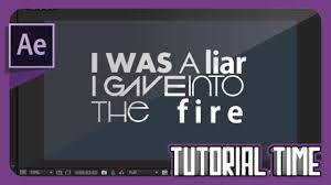 tutorial kinetic typography after effects after effects tutorial basic kinetic typography motion graphics