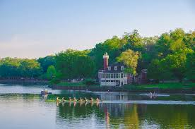Boat House Row - sedgeley club boathouse row photograph by bill cannon