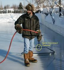 amazon com backyard ice skate rink resurfacer pond skating