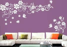 living room wall stencil pattern picture interior stencils designs