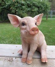 pig statue ebay