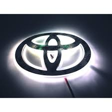 toyota car logo logo polar light picture more detailed picture about led car