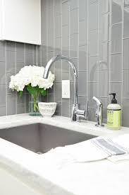 best images about decorating with grey pinterest beautiful laundry room ideas danze kitchen faucet stainless sink gray subway tile installed vertically