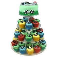 cupcake birthday cake racing car cupcake birthday cake