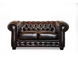 canap chesterfield 2 places cuir canapé chesterfield 2 places brenton 100 cuir de buffle chocolat