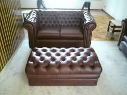 Luizinho Tapeçaria  Decorações Sofá De  Lugares E Puff Chester - Puff sofa 2