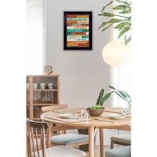 dining room framed art bark textured framed wall art 37154 the home depot