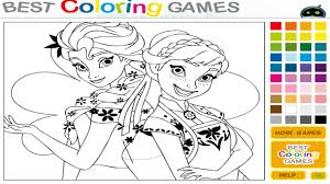 colouring games princess color painting eassume barbie inside