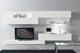 Wall Units Living Room Furniture Modus 70 Ultra Modern Wall Unit By Presotto 18482 Furniture