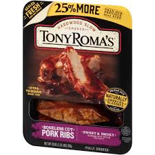 tony roma u0027s boneless cut pork ribs walmart com