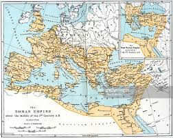 Map Of Rome Italy by Map Of The Roman Empire 2nd Century Ad 1902 Pictures Getty