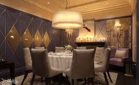 Rectangular Shade Chandelier Contemporary Dining Room Grey Wooden Metal Frame Table Rectangular