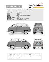 fiat multipla 600 fiat 600 multipla 1956 1966 smcars net car blueprints forum