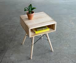mid century modern side table small stylish mid century modern