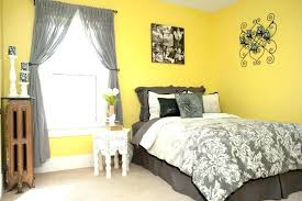 Yellow Bedroom Curtains Grey And Yellow Bedroom Club