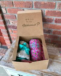 Will You Be My Maid Of Honor Gift Will You Be My Bridesmaid Box Bridesmaid Proposal Box