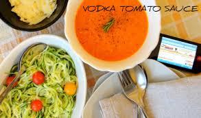 thermomix cuisine vodka tomato sauce recipe