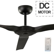 60 ceiling fan with remote radical dc ceiling fan with remote matte black 60 by hunter