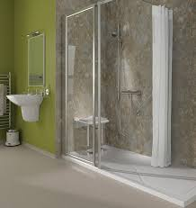 Small Bathrooms With Walk In Showers Small Bathroom Fabulous Walk In Shower Disabled Senior Bathtub