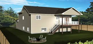 bi level house plans split level home plans edesignsplans ca