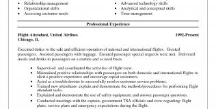 corporate flight attendant resume sample flight attendant resume