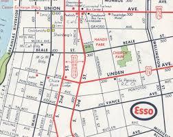 Hernando De Soto Route Map by
