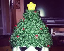christmas tree hat christmas tree hat etsy