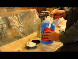 spraying latex paint with a hvlp paint gun youtube