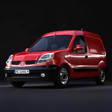 renault kangoo renault kangoo minivan 3d cgtrader