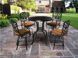 High Patio Dining Sets Patio Inspiring Patio Chairs And Table Frontgate Outdoor