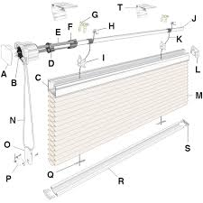 Roman Shade Parts - identify the part in your blinds and shades
