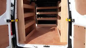 Shelves For Vans by Ford Transit Custom Lwb Complete Shelving