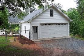 2 car garage with poolhouse