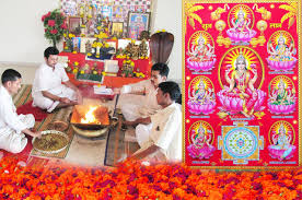 Decoration For Puja At Home by Ashta Lakshmi Puja And Yajna Rudraksha Ratna