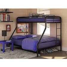 Dorel TwinOverFull Silver Metal Bunk Bed With Set Of - Navy bunk beds